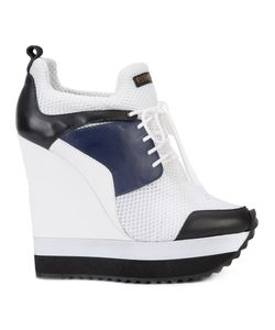 Ruthie Davis | Tech Sneakers 39 Calf Leather/Nylon/Rubber