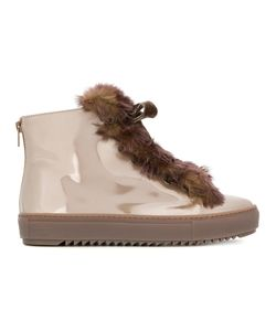 AGL | Fur Embellished Sneakers Women