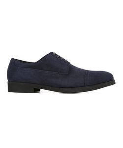 Dolce & Gabbana | Derby Shoes 44 Leather/Calf Suede/Rubber/Calf