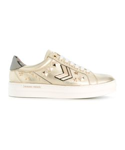 GIANNI RENZI | Embellished Lace-Up Sneakers Size 40