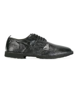 Rocco P. | Wrinkled Effect Derbies 42 Calf Leather/Leather/Rubber