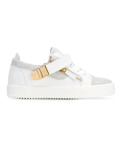 Giuseppe Zanotti Design | Rs7036001 Bianco Leather/Fur/Exotic Skins-Leather
