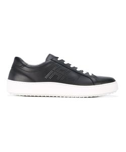 Hogan | Lace-Up Leather Trainers 8.5
