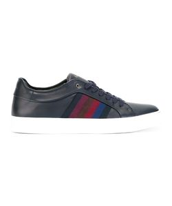 Paul Smith | Striped Detail Sneakers 9 Leather/Rubber