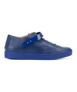 Giuseppe Zanotti Design | Patent Strap Low-Top Sneakers Size 42