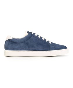 Brunello Cucinelli   Lace-Up Sneakers 44 Chamois Leather/Leather/Rubber
