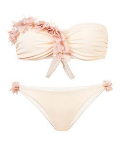 LA REVECHE | Embellished Strapless Bikini Women