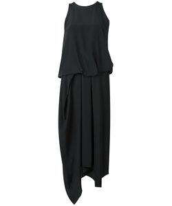 Chalayan | Tuck Drape Dress 42 Silk