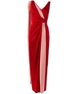 Paule Ka | Long Sleeveless Twist Dress Size 38