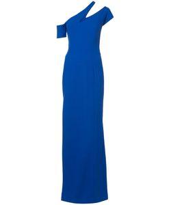 Mugler | Вечернее Платье С Открытым Плечом