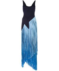GALVAN | Carmen Fringe Dress 38 Polyamide/Spandex/Elastane/Viscose/Spandex/Elastane