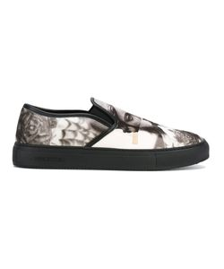 Neil Barrett | Statue Print Slip-On Sneakers