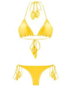MARTHA MEDEIROS | Side Tie Bikini Bottom Size G