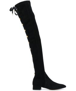 Olgana | Officier High-Thigh Boots