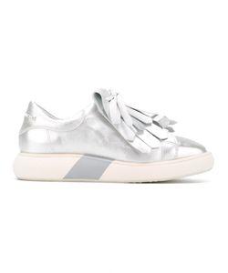 Manuel Barceló | Fringe-Trimmed Slip-On Sneakers Size 40