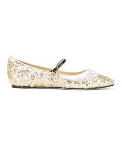 GIANNICO   Embellished Ballerina Shoes