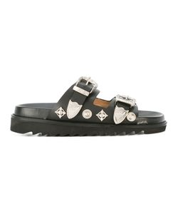 Toga | Buckled Sandals 36 Leather/Rubber