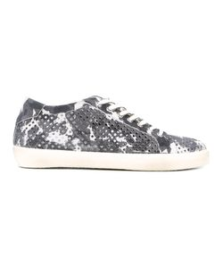 Leather Crown | Perforated Sneakers 42