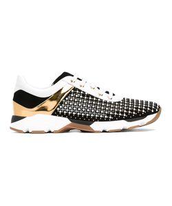 Rene' Caovilla | René Caovilla Panel Studded Sneakers