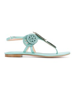 Unützer | Laser Cut Detail Sandals Size 37.5