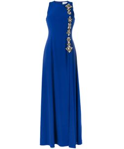 STEFANO DE LELLIS | Embellished Sleeveless Maxi Dress