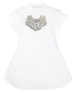 Miahatami | Embellished Collar T-Shirt 42