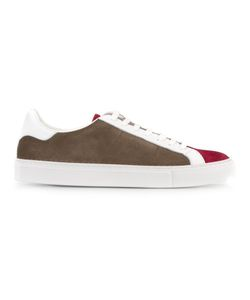 Eleventy   Lace-Up Sneakers 41 Suede/Rubber/Leather/Cotton