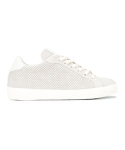 Leather Crown | Perforated Sneakers Size 38