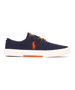 Polo Ralph Lauren | Logo Embroide Sneakers 10 Cotton/Canvas/Polyurethane/Rubber
