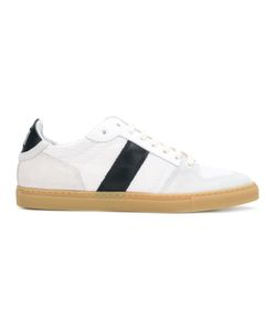 Ami Alexandre Mattiussi | Leather-Trimmed Sneakers Size 43