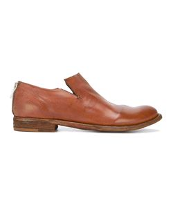 Officine Creative | Minimal Low-Heel Loafers 39 Leather