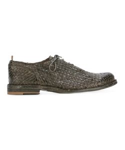 Officine Creative | Woven Lace Up Shoes