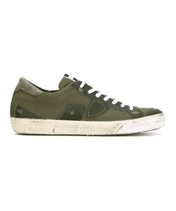 Philippe Model | Patch Lace-Up Sneakers Size 45
