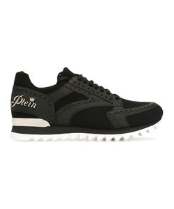 Philipp Plein | Lace-Up Sneakers 40.5 Calf Leather/Leather/Nylon/Nylon