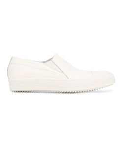 Rick Owens | Low-Top Boat Sneakers 45 Leather/Rubber