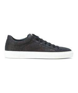 HIDE & JACK | Textured Lace-Up Sneakers Men Calf