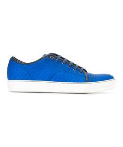 Lanvin | Bi-Colour Low Top Sneakers Calf Leather/Python