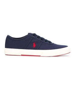 Polo Ralph Lauren | Logo Embroidery Lace-Up Sneakers 9