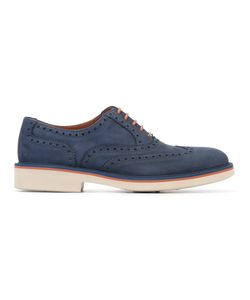 Canali   Brogue Detail Oxford Shoes Size 42