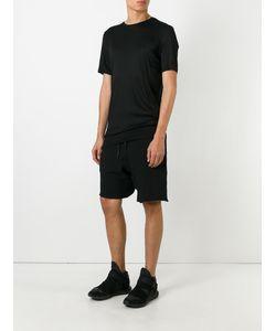CEDRIC JACQUEMYN | Twisted Decoup Shorts 46 Linen/Flax