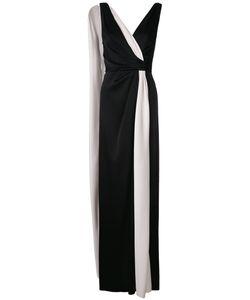 Paule Ka   Draped Woven Column Dress