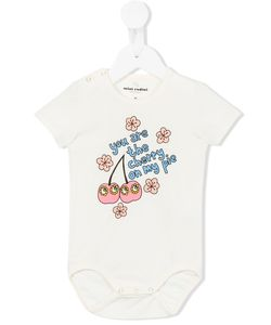 Mini Rodini | Cherry Print Body Infant 9-12 Mth