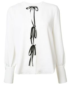 Rachel Comey | Lace-Up Blouse 2 Silk/Polyester