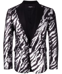 Dsquared2 | Giacca Tiger Flash Jacket 48 Cotton/Polyester/Silk/Cotton