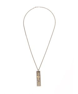 TOBIAS WISTISEN | Plaque Pendant Necklace