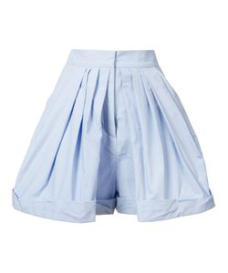 Vika Gazinskaya | Pleated Tailored Shorts