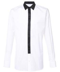 Alexander McQueen | Рубашка С Контрастным Воротником