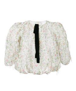 Giambattista Valli | Sheer Embroidered Blouse