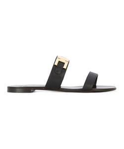 Giuseppe Zanotti Design | Double Bar Sandals