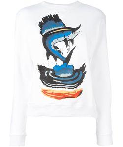 J.W. Anderson | J.W.Anderson Fish Print Sweatshirt Size Medium